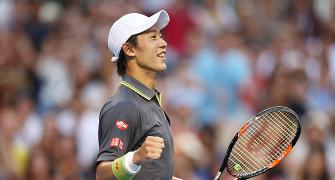 High ranking sits uncomfortably on Nishikori's shoulders