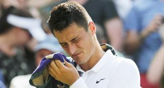 Tomic fined for playing below standards at Wimbledon