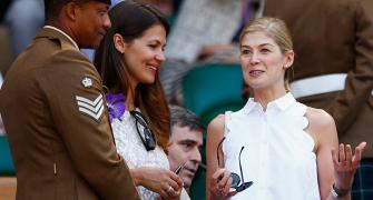 PHOTOS: Celebrities glam up Wimbledon finals