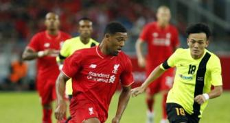 Ibe shines as Liverpool held to 1-1 draw in Malaysia