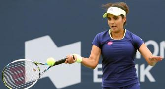 Paes, Sania suffer defeats at US Open