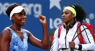 Williams sisters to put family ties to ultimate test