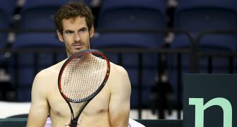 Murray hopes to be fit enough to play Federer, Nadal