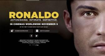 Ronaldo on celluloid: watch the trailer...