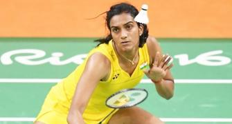 I'm just focused on my next match: PV Sindhu