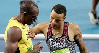 Is De Grasse the rightful heir to Bolt's crown?