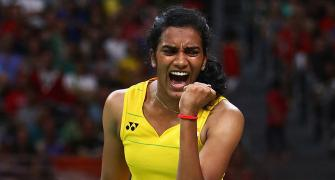 World Championships: Sindhu storms into semis; Saina knocked out