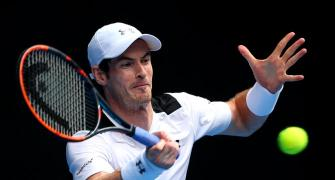 Aus Open PHOTOS: Murray negates Groth's attack; Azarenka advances