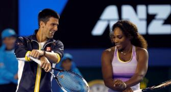 Djokovic, Serena named players of 2015, Sania-Hingis crowned Doubles champions