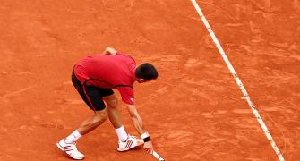 The best of French Open in pictures...