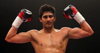 Is Vijender scared of British boxer Amir?