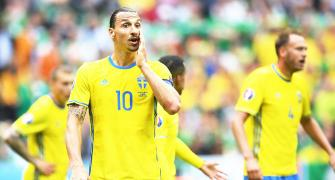 Injured Zlatan out of Euros, says Sweden coach