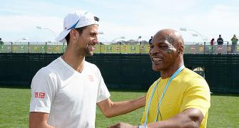 PHOTOS: Djokovic, Nadal tested at Indian Wells, Serena strolls
