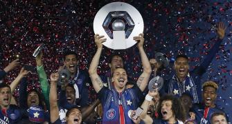 That's how Ibrahimovic bids farewell to Parc des Princes