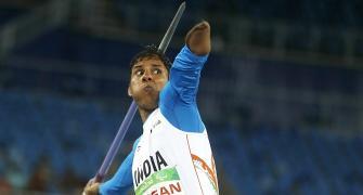 Jhajharia under no pressure for gold at Paralympics
