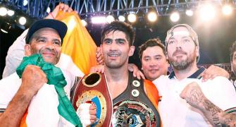 Why Vijender wants to return the belt to China