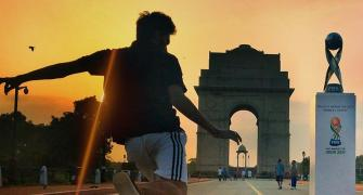PHOTOS: Football takes over India Gate