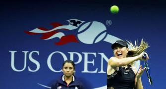 Upsets on Day 1 at US Open: Sharapova knocks out Halep, Konta loses
