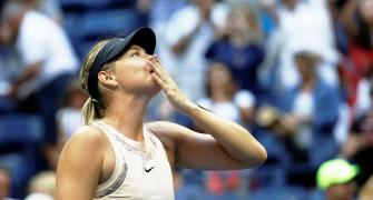 Sharapova feels the love, respect from fans and fellow players