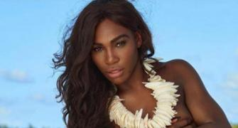 Serena Williams burns up the beach at this sizzling shoot