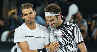 SEE: Nadal, Federer engage in a banter