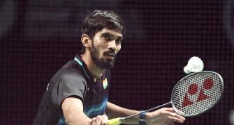 Hong Kong Open: Srikanth advances; Sindhu knocked out