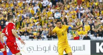 2018 FIFA World Cup qualifiers: Cahill's extra-time winner keeps Australia alive
