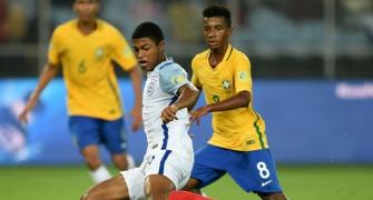 U-17 World Cup: England send Brazil packing