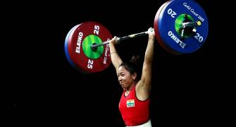 Chanu narrowly misses out on World Championships medal