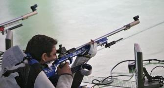 Narang, Chain flop in 50m rifle prone