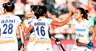 Gurjit's late twin strike ensures semis spot for India in women's hockey