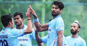 India thrash Lanka 20-0, face Malaysia in men's hockey semis