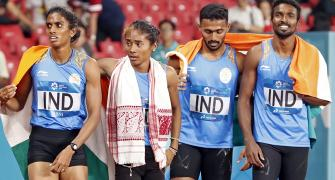 India's mixed relay silver at Asiad set to turn gold
