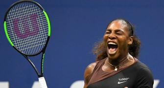 PHOTOS: Serena gets warm welcome and win on US Open return