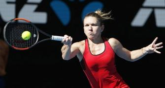 Aus Open PHOTOS: Halep, Kerber to clash in semis after easy wins