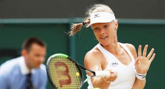 Wimbledon: Record rout of seeds complete as Bertens beats Pliskova