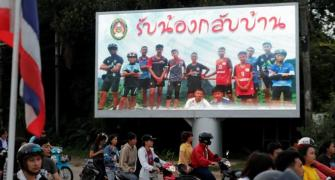 World soccer toasts Thai cave boys' rescue