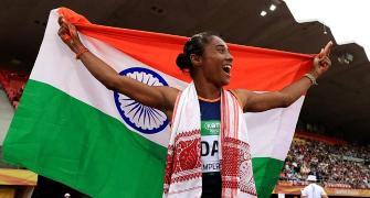 New track star Hima Das targets Tokyo Olympics