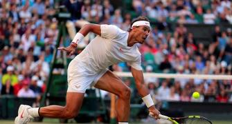 PICS: Nadal survives thriller to down Del Potro; Isner beats Raonic