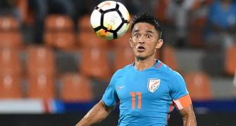 Is India over-dependent on Captain Chhetri?