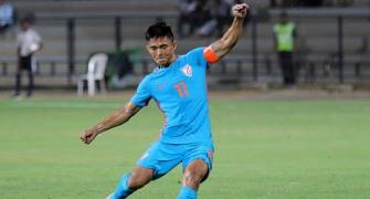 Indian team heavily dependent on Chhetri: Bhutia