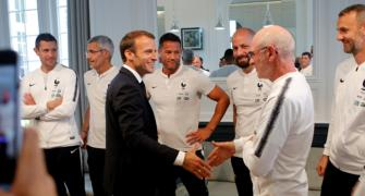 One job French president Macron won't touch: national soccer coach
