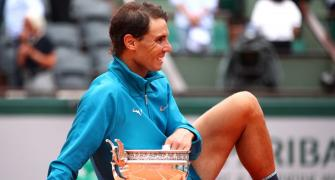 At Roland Garros, Nadal is still untouchable