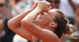 Halep's French Open title inspired by Ruzici