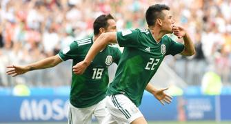 WC PHOTOS: Mexico stun world champs Germany