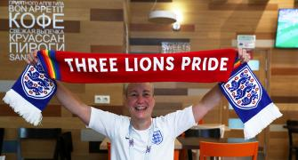 England fan ready to fly the flag for gay rights at World Cup