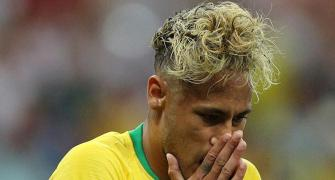 Subdued Neymar kept in check as Brazil struggle