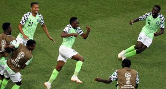 World Cup PHOTOS: Musa double powers Nigeria to victory