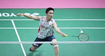 Badminton World No.1 Momota injured in crash