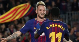 Soccer Extras: Barca's Rakitic unmoved by transfer rumours